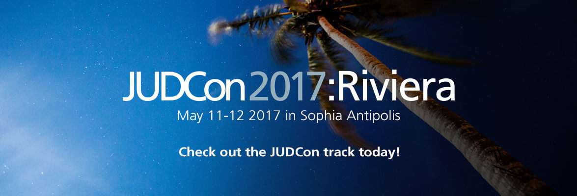 JUDCon has a track at Riviera Dev, Register today!