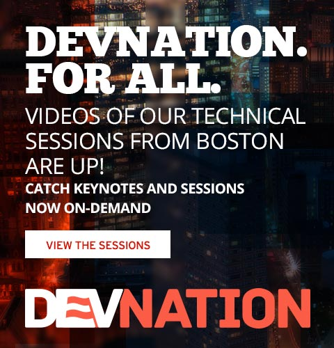 DevNation: Watch the keynotes, live and on demand