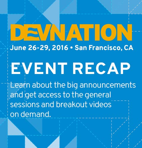 Get a recap of the DevNation 2016 event and access to the on demand content.