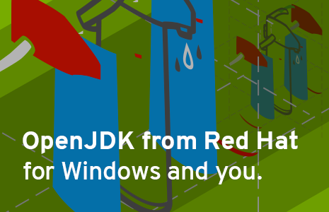 OpenJDK is now available for Windows. Join RHD now to download.