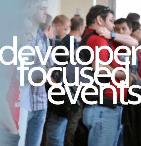 Developer Focused Events