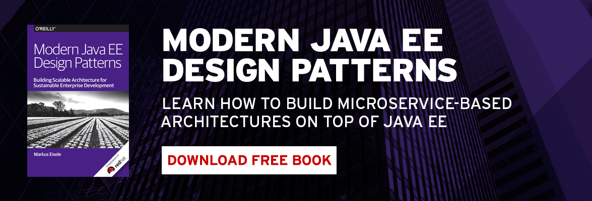 Learn how to build microservice-based architectures on top of Java EE